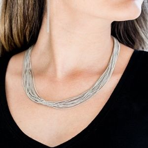 Backstage Bravado Necklace (Silver)